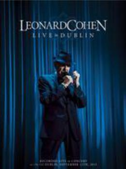 莱昂纳德·科恩2013都柏林演唱会高清海报