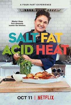 盐,脂肪,酸与热量高清海报