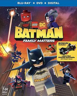 乐高DC蝙蝠侠:家族事务高清海报