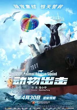 动物出击高清海报