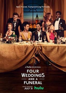 四个婚礼和一个葬礼高清海报