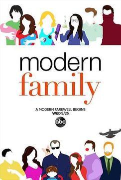 摩登家庭第十一季高清海报