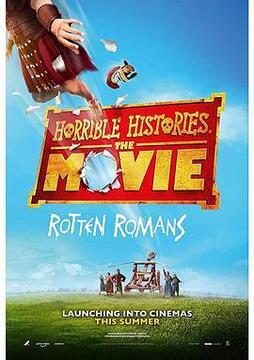糟糕历史大电影:臭屁的罗马人高清海报
