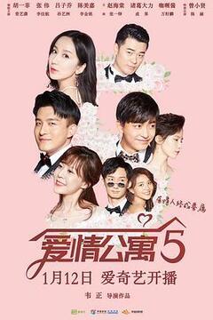 爱情公寓5高清海报