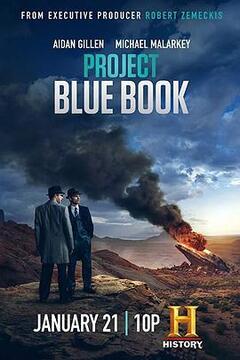 蓝皮书计划第二季高清海报