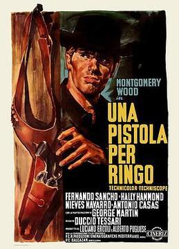 瑞格之枪高清海报
