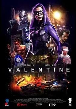 瓦伦丁:黑暗复仇者高清海报