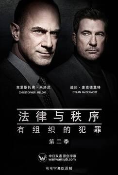 法律与秩序:组织犯罪第二季高清海报
